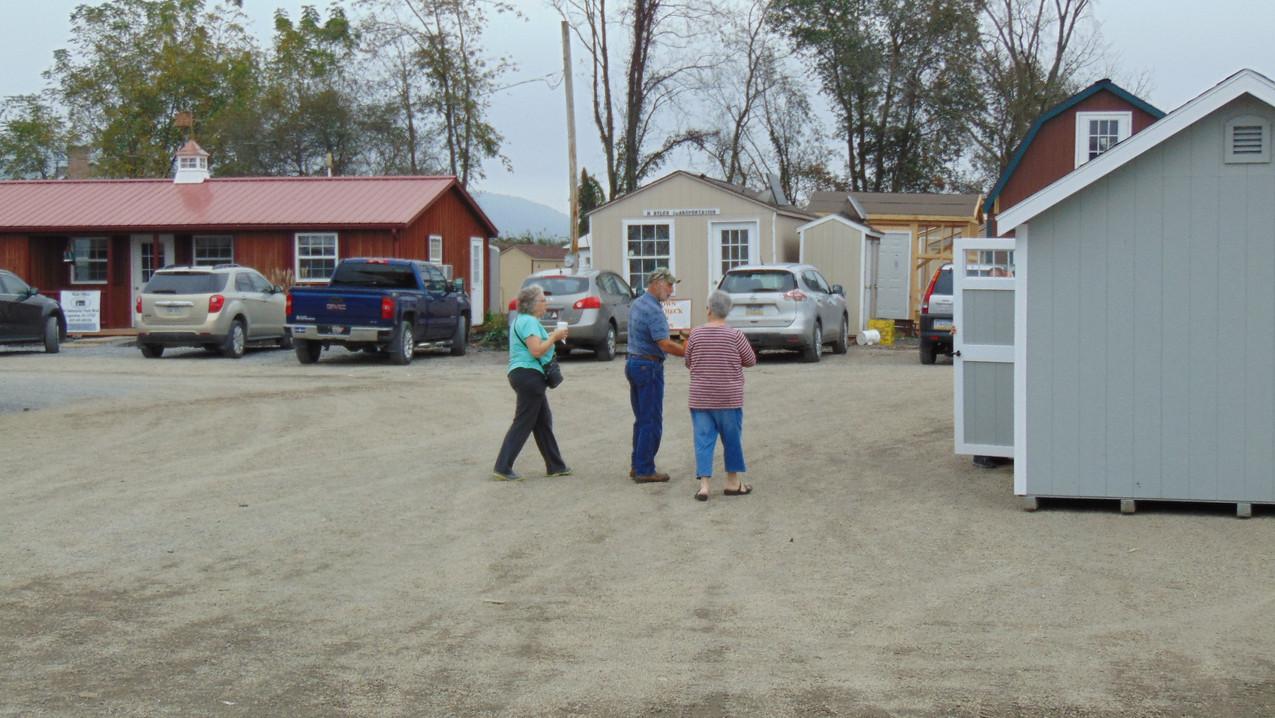 choosing a shed