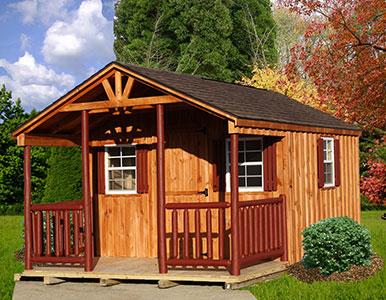 Board & Batten Cabin 1