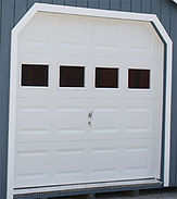 9x7 Garage door with windows