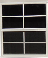 Standard shed windows
