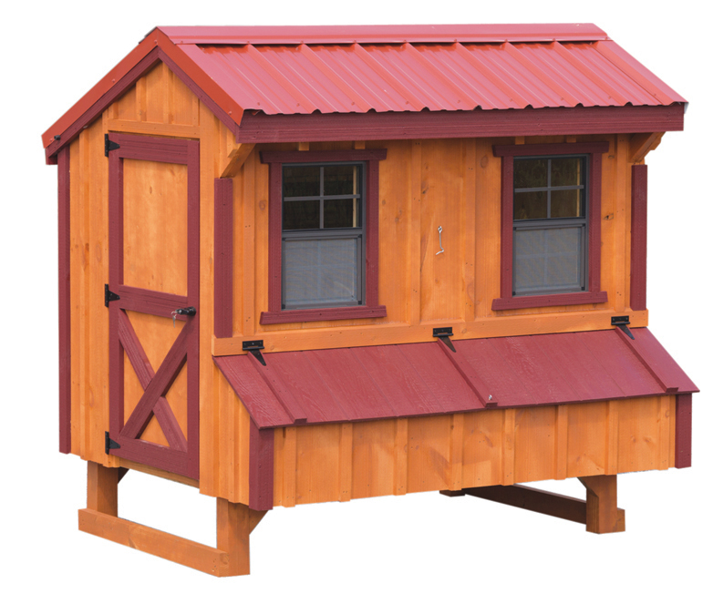 quaker chicken coops