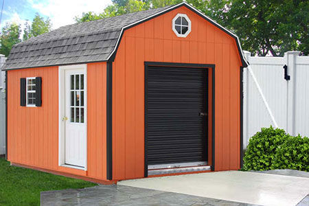 Painted Dutch Garage 3