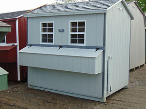 6x8 Smartside Chicken Coop