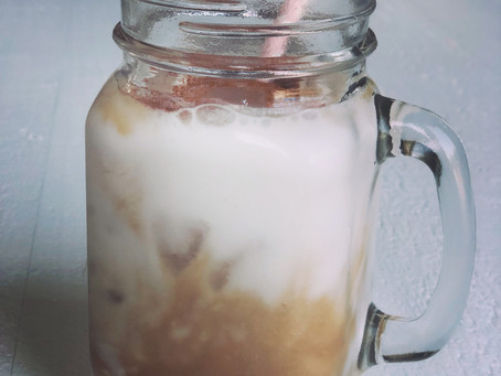 Maple Iced Latte, Non-dairy