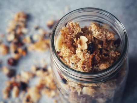 Tropical Toasted Coconut Granola, AIP/Paleo