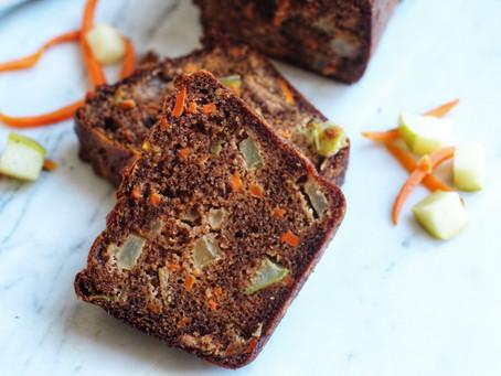 Carrot Apple Breakfast Bread, Paleo
