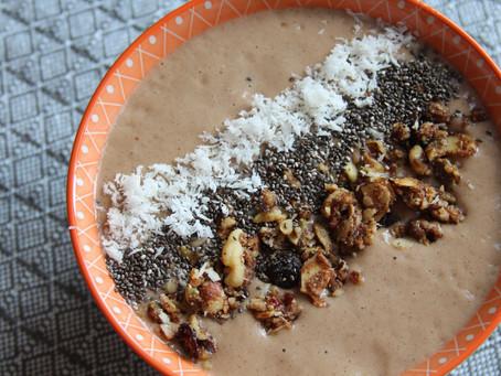 Banana Chocolate Smoothie Bowl