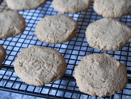 Maple Cashew Cookies