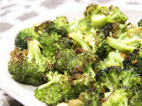 Maple Balsamic Roasted Broccoli