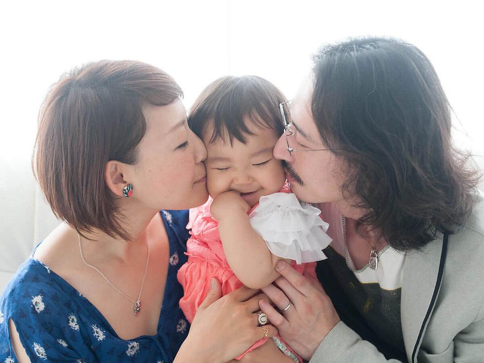家族写真を撮るなら東京杉並区のレイフォトスタジオ