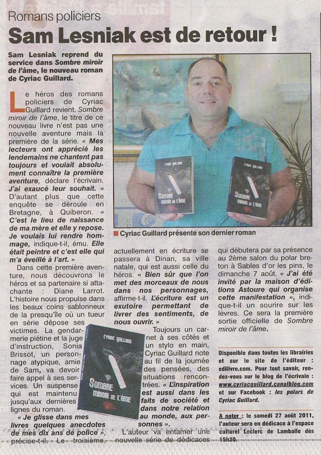 Le Penthièvre 28 juillet 2011