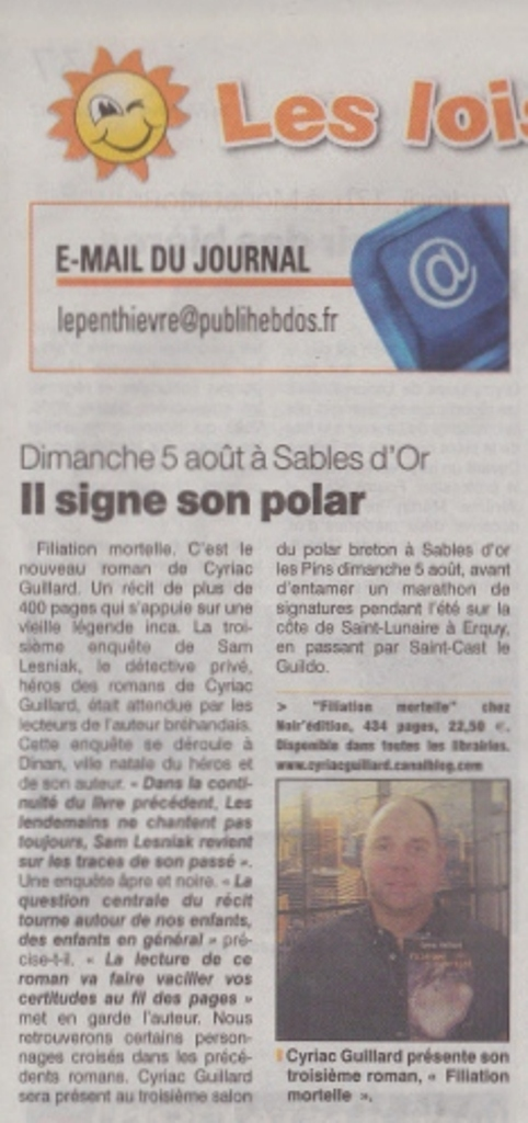 Le Penthièvre 03 août 2012