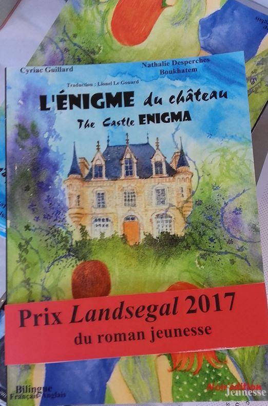 prix Lansegal du roman jeunesse 2017