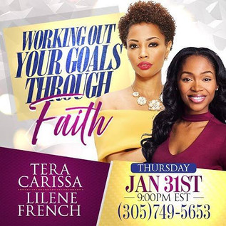 Working Out Goals Through Faith Conference Call