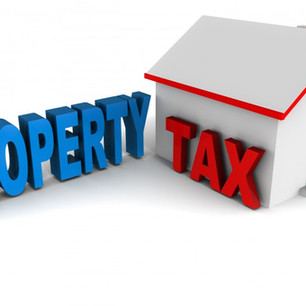 The Property Tax Man Cometh!