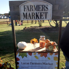 The First Lucas Farmer's Market was a Big Hit!