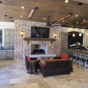 An Amazing Outdoor Living Area in Fairview