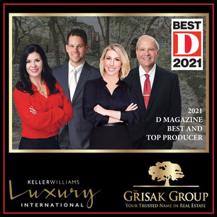 """Four of our Team Members Are D Magazine """"Best Agents"""""""