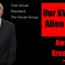The Yearly Keller Williams Allen Awards Breakfast