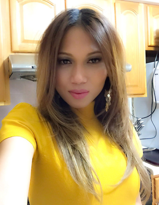 Selfie before Cooking