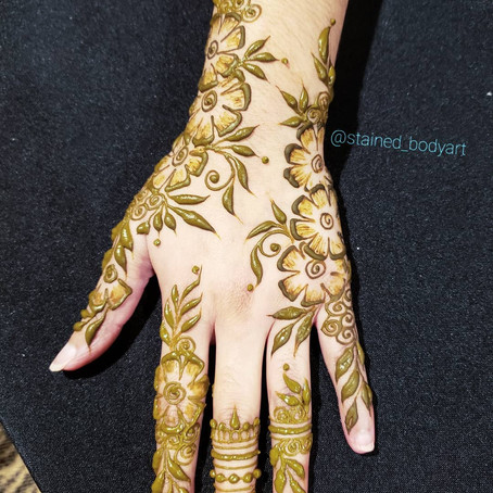"Going from ""I think I want henna"" to Fly AF"