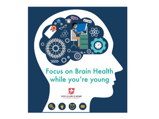 10 HABITS TO FOCUS ON YOUR BRAIN HEALTH WHILE YOU'RE YOUNG.