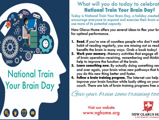 Today is National Train Your Brain Day! What will you do?