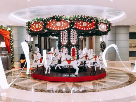 Decoração de Natal Corinthia Hotel Lisboa
