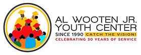 Wooten 30th anniversary logo with white