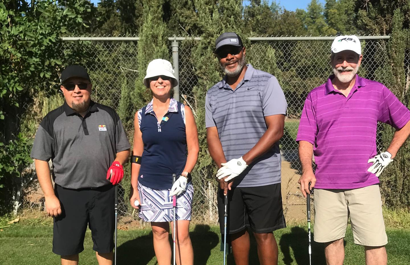 wooten golf foursome with men and women