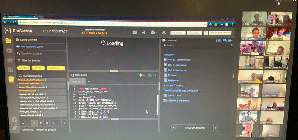Coding with South LA Robotics
