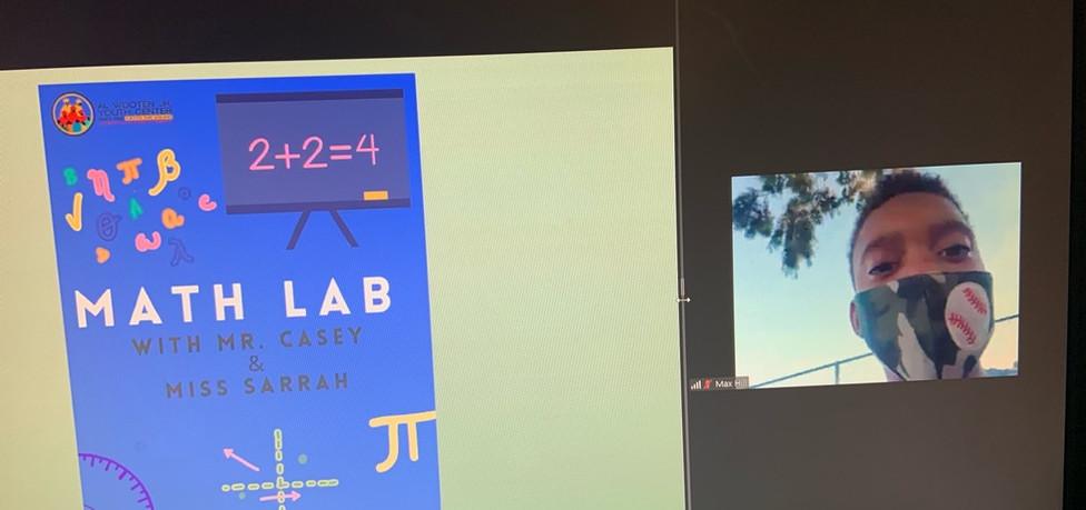 Summer Math Lab Live