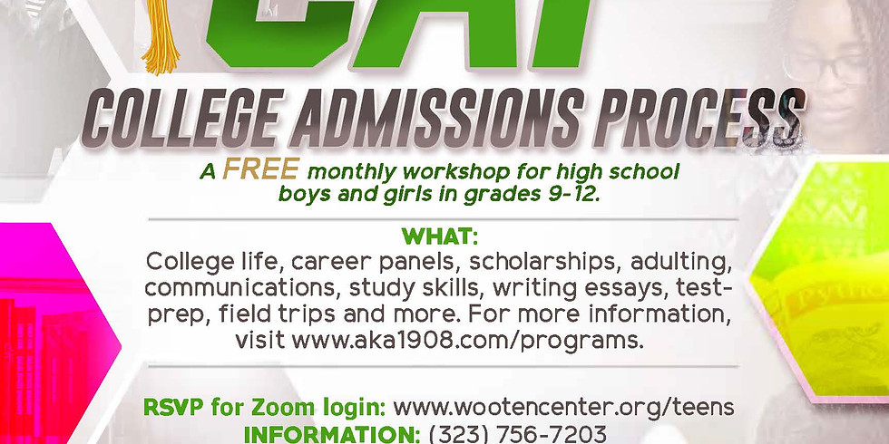 [CAP] College Admissions Process KICKOFF!!!