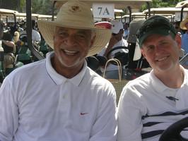 Ron with friend David McFadzean at Wooten Golf Classic