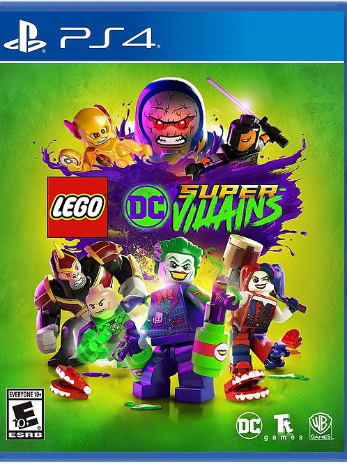 LEGO DC Super VIllains (PS4 only)