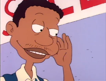Ron as Randy Carmichael in Rugrats