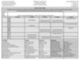 Wooten Fall 2020 Program Schedule