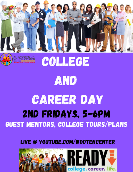 College and Career Day live on YouTube