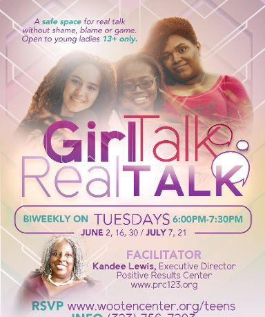 Girl Talk with Positive Results Center