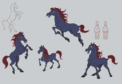 horse poses web