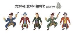 Pirate John Silver Color Test