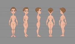 woman body web