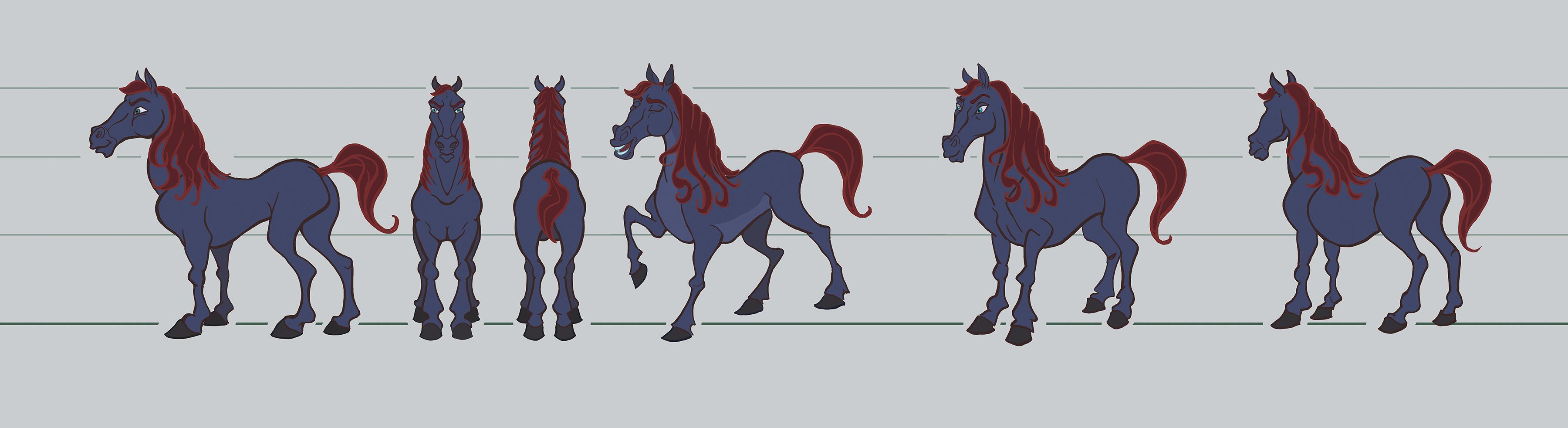 horse character web 2