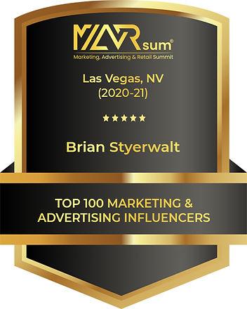 Brian Styerwalt - Award