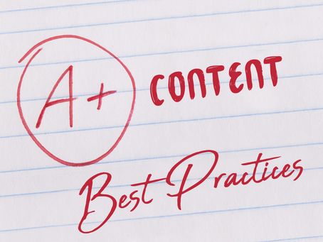 Best Practices for A+ Content