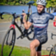 Cyclocross race, bicycle race.