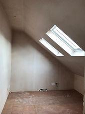 Loft Room Plastered
