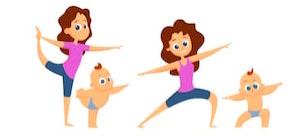 baby-yoga-mutual-exercises-mother-260nw-