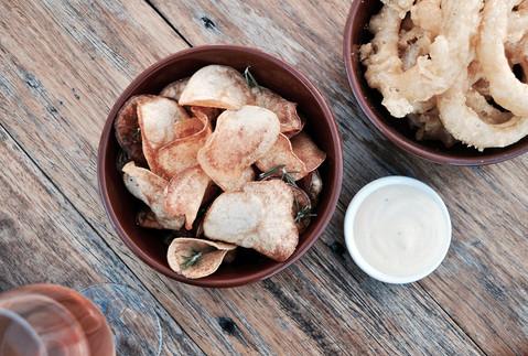 Crisps and Calamari