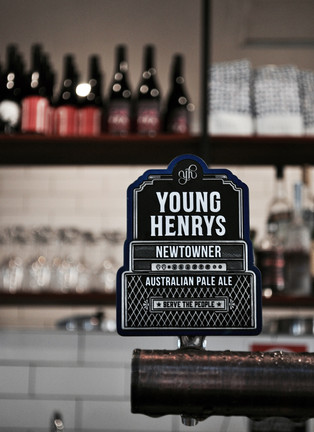 Young Henry's on tap